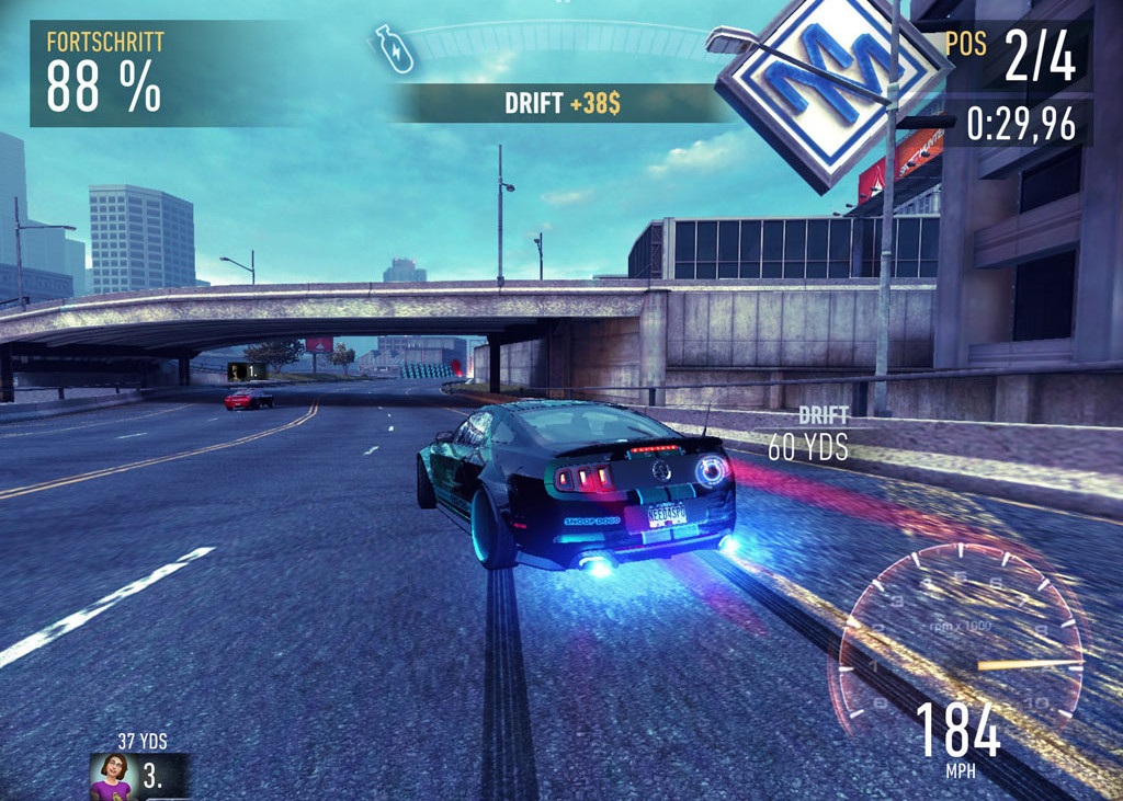 nfs no limits race 1024x731 - Need For Speed: No Limits