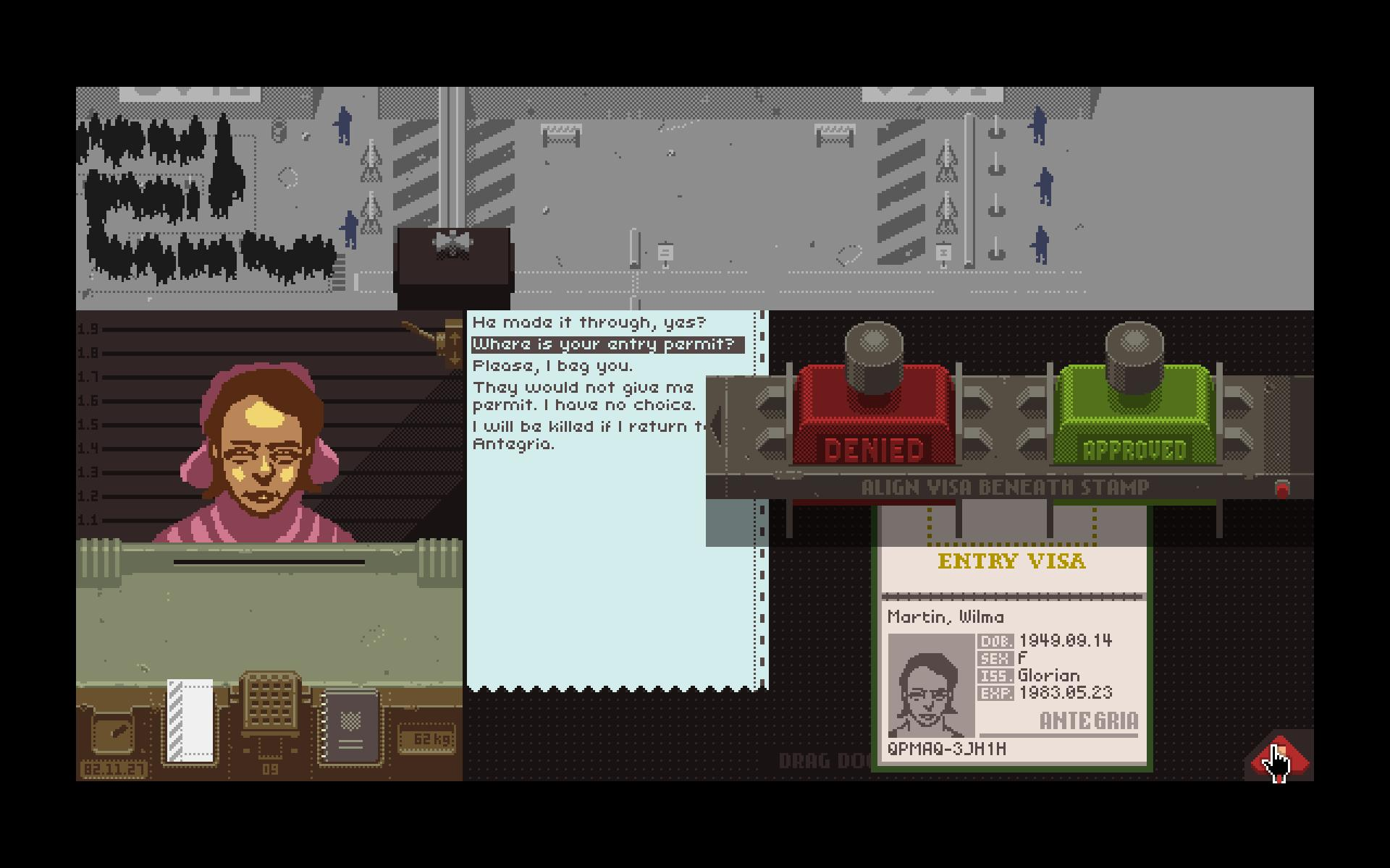 swisssmp steam papers please gameplay - Papers, Please! Glory to Arstotzka!