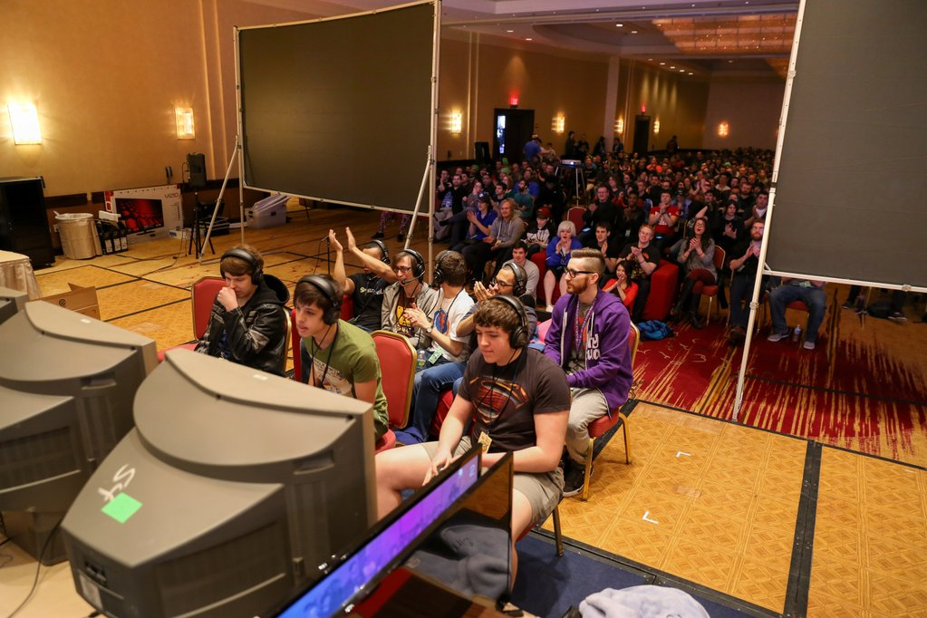 awesome games done quick 2016 audience - Games Done Quick 2016