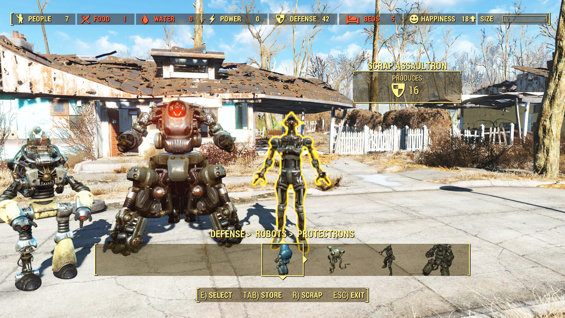 fallout 4 mods robot home defence 1 - Fallout 4 Mods